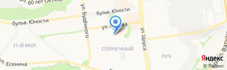 Европа на карте Белгорода