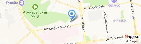 НикСтайл на карте Белгорода