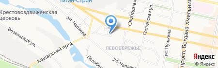 Огонёк на карте Белгорода