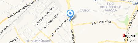 МАГБЕЛ на карте Белгорода