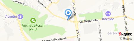 Горьковский на карте Белгорода