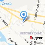 Левша на карте Белгорода