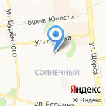 Русстрой на карте Белгорода