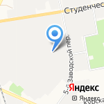Мастерская мебели на карте Белгорода