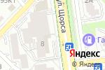 Схема проезда до компании Фуд Сервис Компани в Белгороде