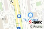 Схема проезда до компании Сладик в Белгороде