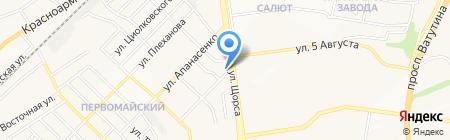 Мак на карте Белгорода
