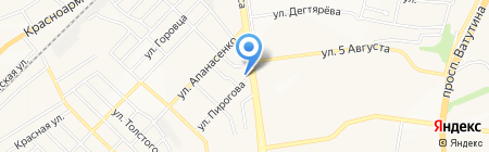 Союз офицеров на карте Белгорода