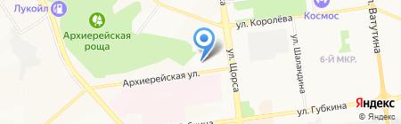 Дом недвижимости на карте Белгорода