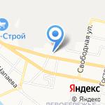 KICK-DOWN на карте Белгорода