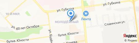 Маяк на карте Белгорода