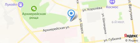 Вектор-М на карте Белгорода