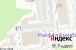 Схема проезда до компании Мегаполис в Белгороде