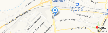 Дмитрий на карте Белгорода