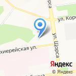 Мегаполис на карте Белгорода