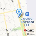 Российский Красный Крест на карте Белгорода