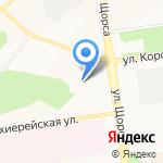 Направление на карте Белгорода