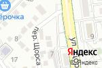 Схема проезда до компании Решение в Белгороде