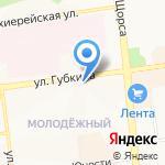 АКВАБАР на карте Белгорода