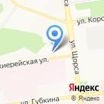 Север-Юг на карте Белгорода