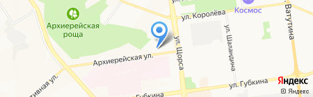 Инженерно-технический центр РОСЭНЕРГОСТАЛЬ на карте Белгорода