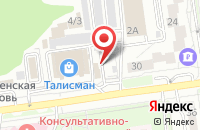 Схема проезда до компании Рус Сервис в Белгороде