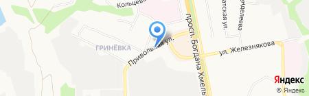 Магазин цветов на карте Белгорода