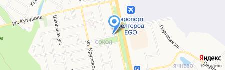 ВНП-карт на карте Белгорода
