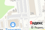 Схема проезда до компании Компания по техническому обслуживанию и продаже аккумуляторных батарей в Белгороде