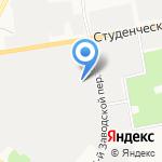 Автомаркет на карте Белгорода