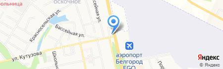 АТМ на карте Белгорода