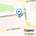 Детская областная клиническая больница на карте Белгорода