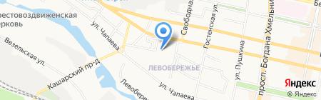 Детский сад №82 на карте Белгорода