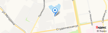 Облтеплосеть на карте Белгорода