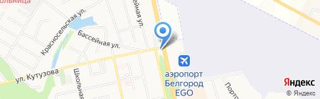Регион на карте Белгорода