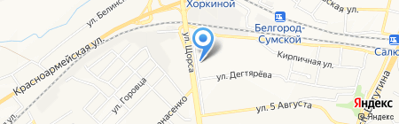 МИФ на карте Белгорода