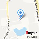 Белтонировка на карте Белгорода