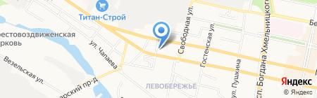 НоваСтиль на карте Белгорода