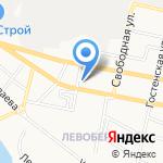 Автоюрист на карте Белгорода