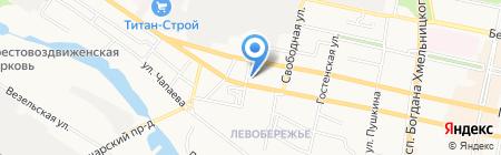 ТД Нова на карте Белгорода