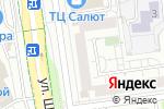 Схема проезда до компании Облик в Белгороде