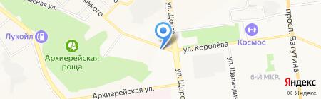 Алекс на карте Белгорода