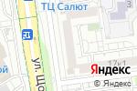 Схема проезда до компании Device31 в Белгороде