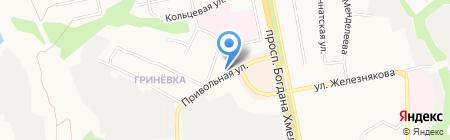 In Формат на карте Белгорода