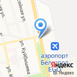 Антенны тут на карте Белгорода