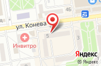 Схема проезда до компании ДиЭлектро в Белгороде