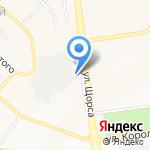 Южная на карте Белгорода
