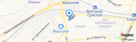 Банкомат Россельхозбанк на карте Белгорода