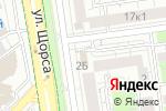 Схема проезда до компании Белладжио в Белгороде