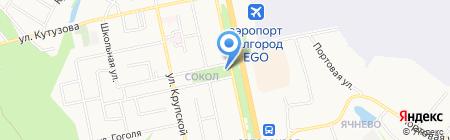 Храм Святого Праведного Иоанна Кронштадтского на карте Белгорода